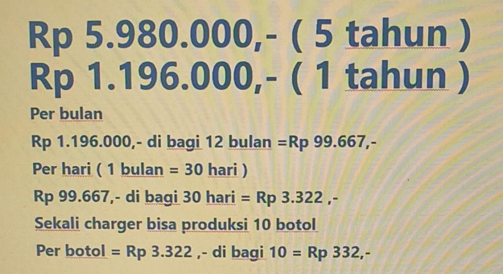 harga ekonomis 2